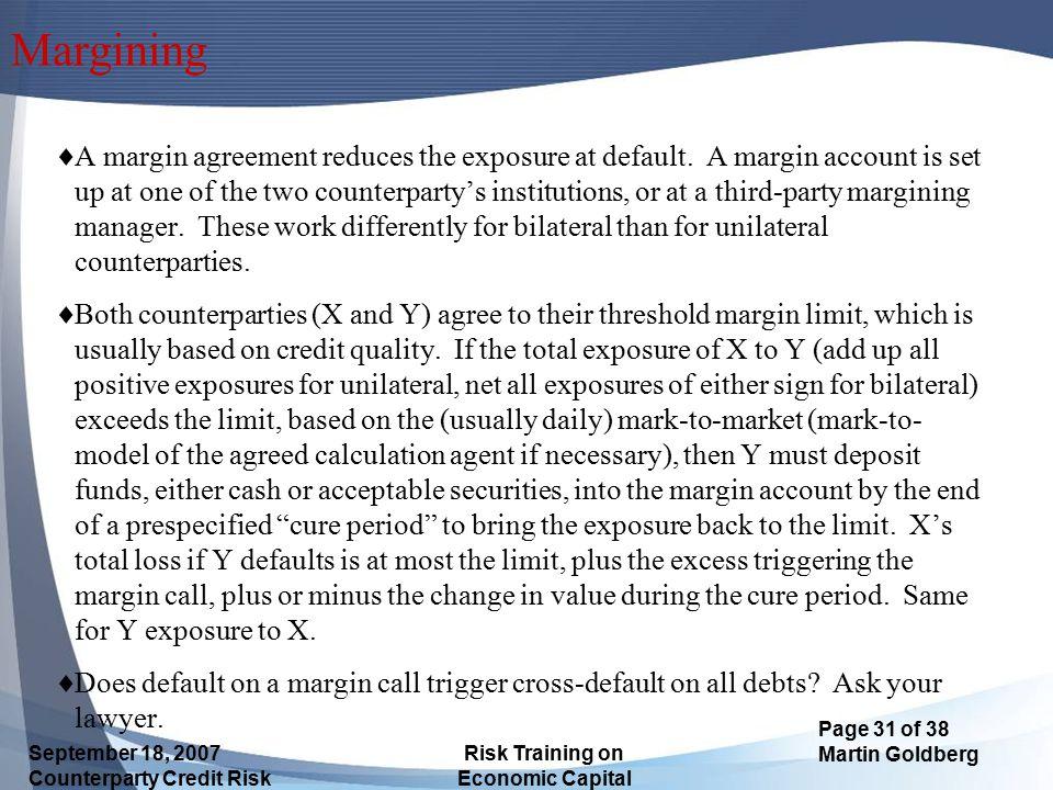 Margining
