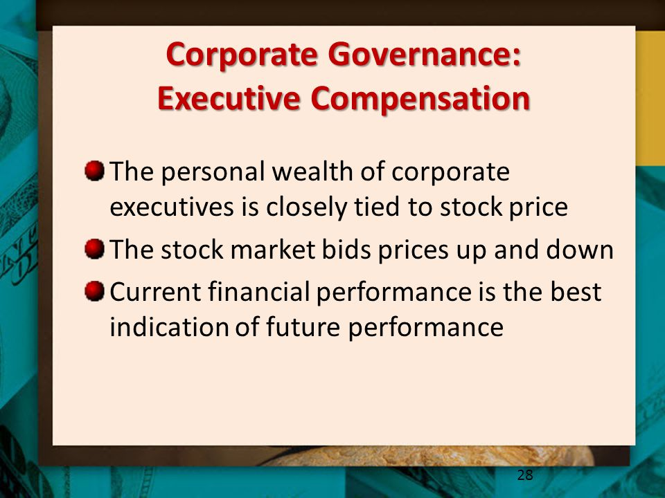 Corporate Governance: Executive Compensation
