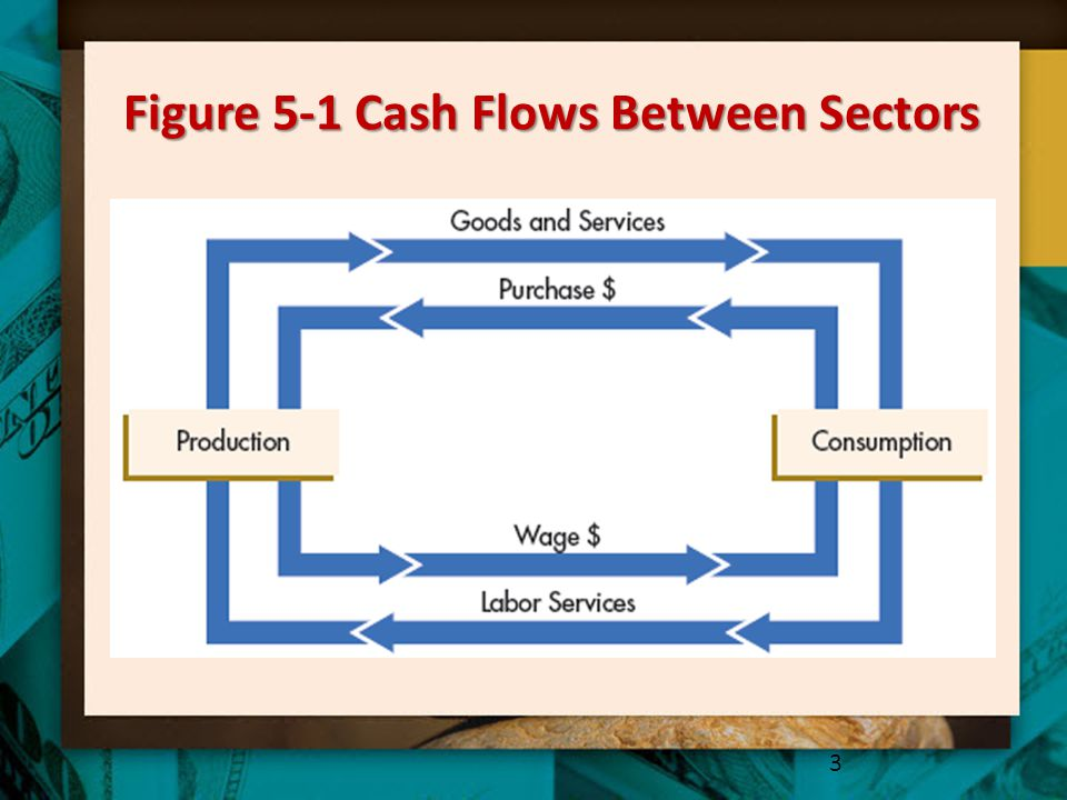 Figure 5-1 Cash Flows Between Sectors