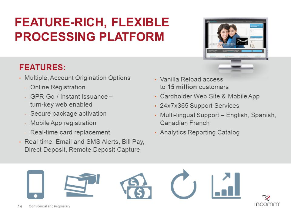 FEATURE-RICH, FLEXIBLE PROCESSING PLATFORM