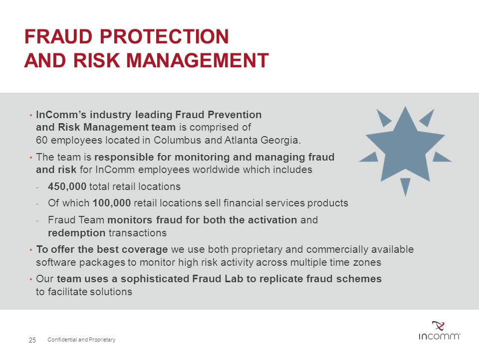 FRAUD PROTECTION AND RISK MANAGEMENT