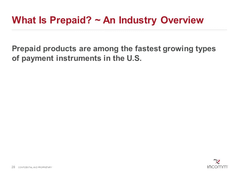 What Is Prepaid ~ An Industry Overview