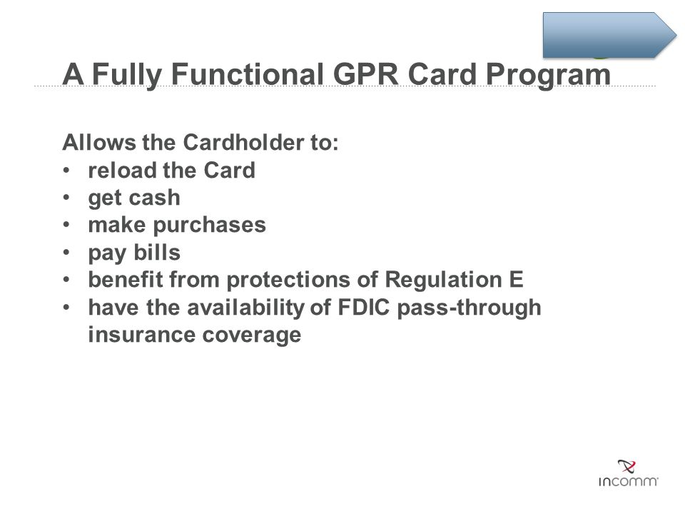 A Fully Functional GPR Card Program