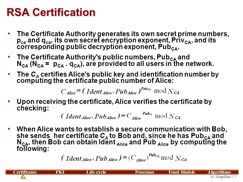 * Adams, C., Lloyd S. Understanding PKI