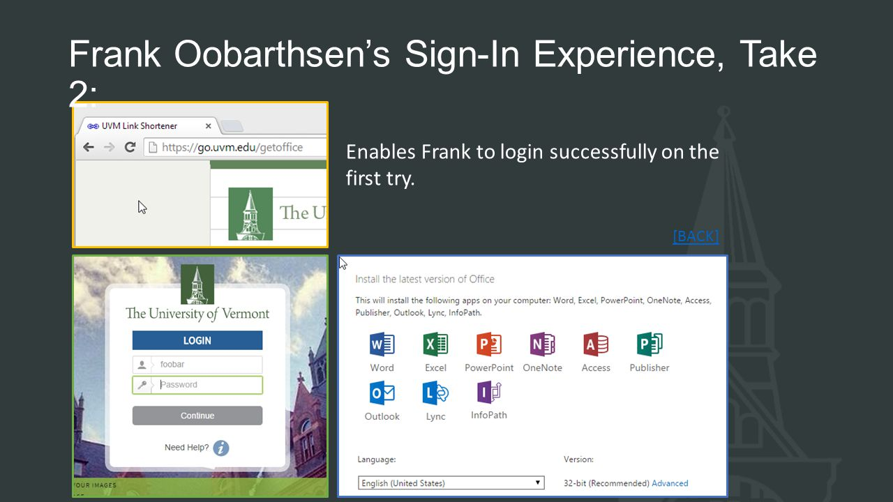 Frank Oobarthsen's Sign-In Experience, Take 2: