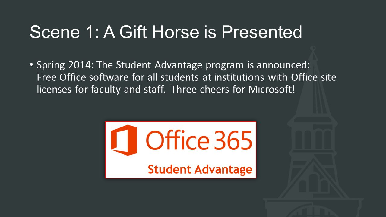 Scene 1: A Gift Horse is Presented