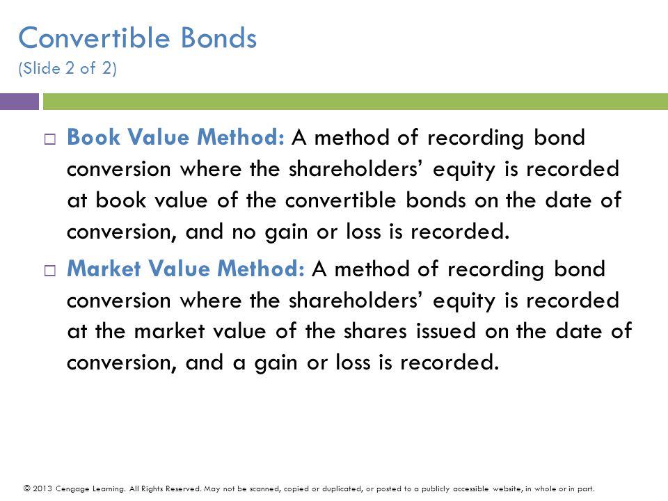 Convertible Bonds (Slide 2 of 2)