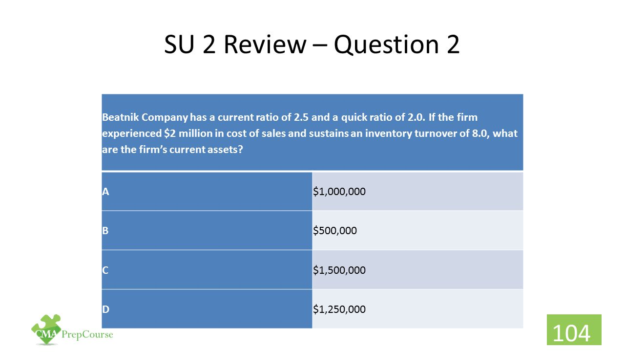 SU 2 Review – Question 2