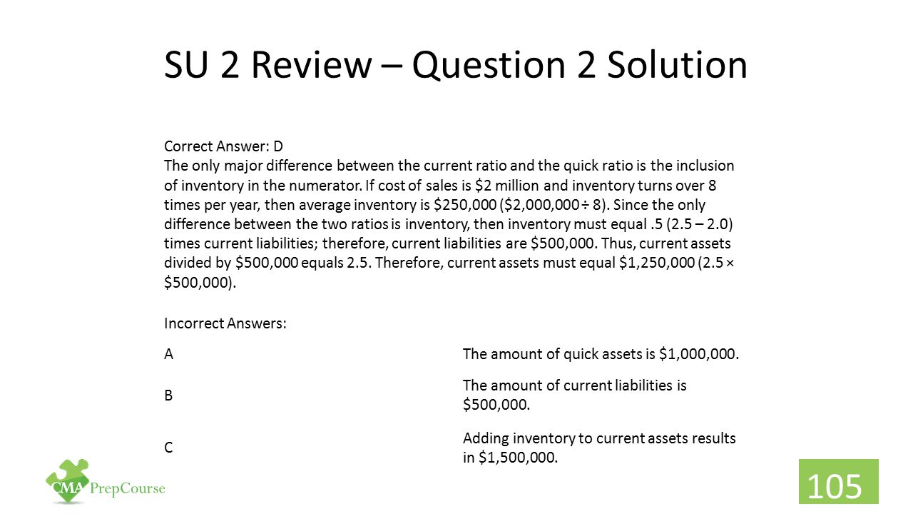 SU 2 Review – Question 2 Solution
