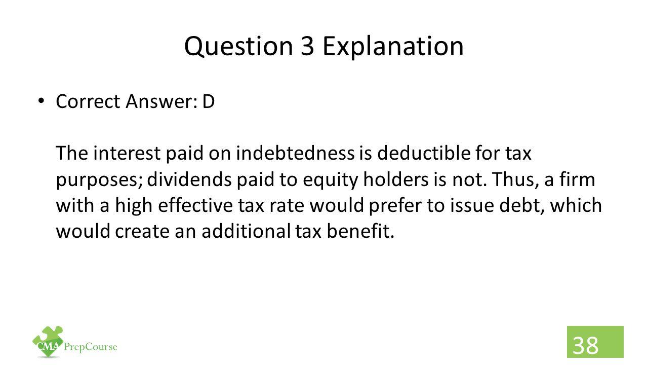 Question 3 Explanation