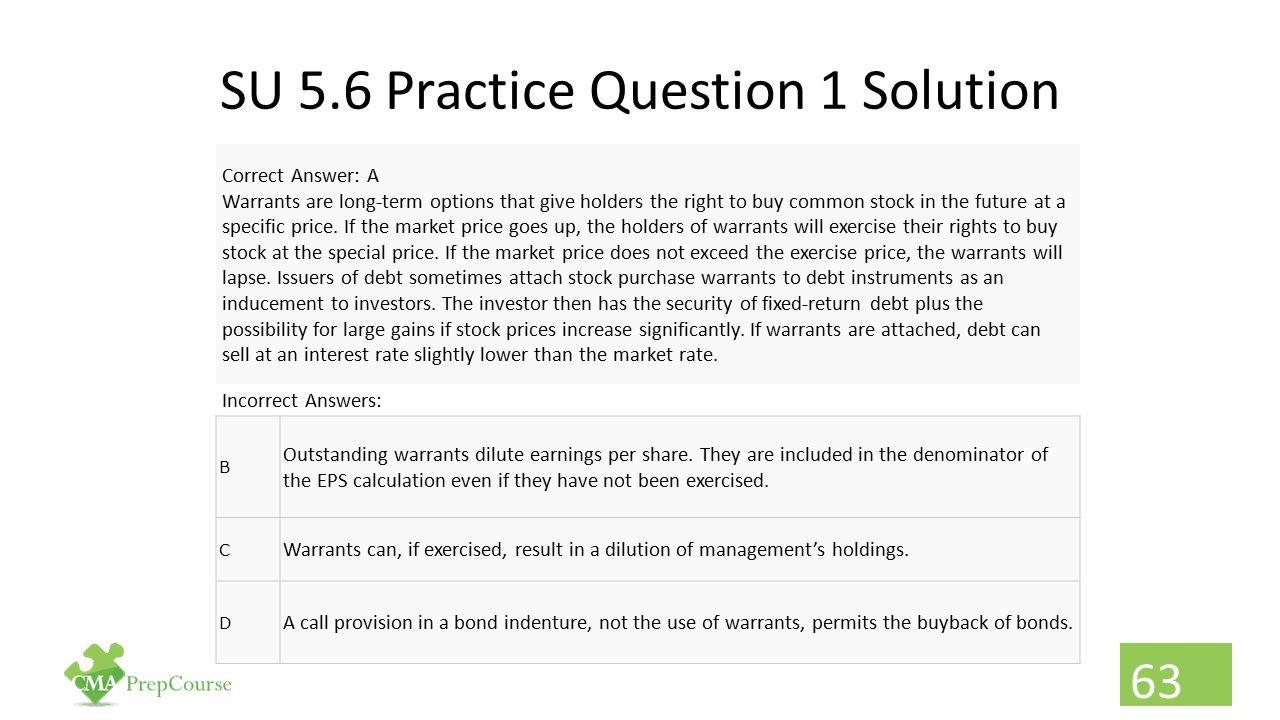 SU 5.6 Practice Question 1 Solution