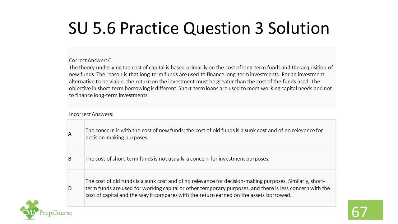 SU 5.6 Practice Question 3 Solution