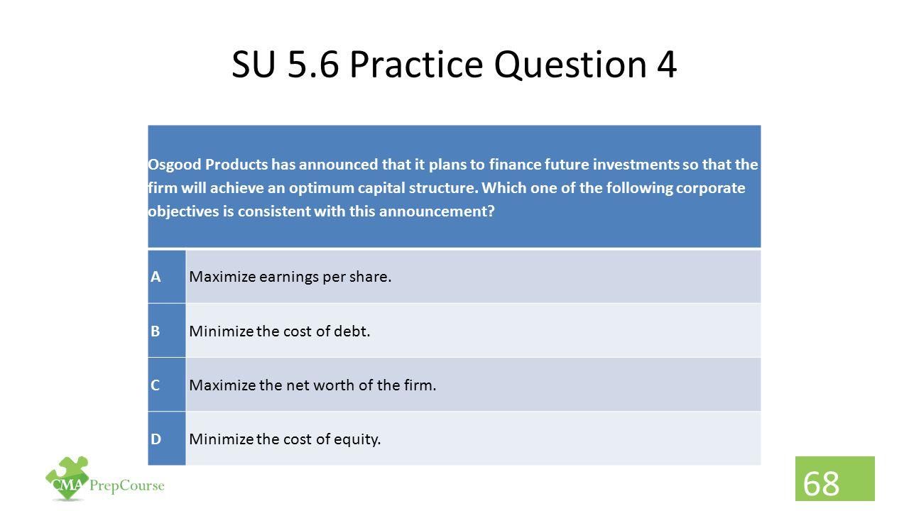 SU 5.6 Practice Question 4