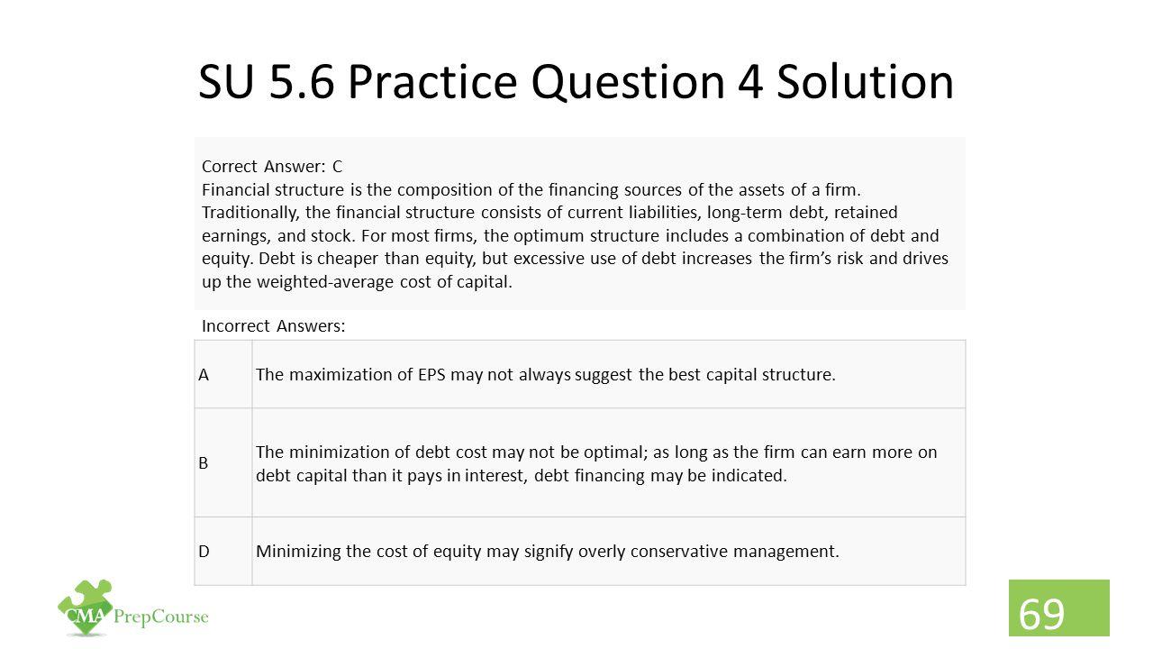 SU 5.6 Practice Question 4 Solution