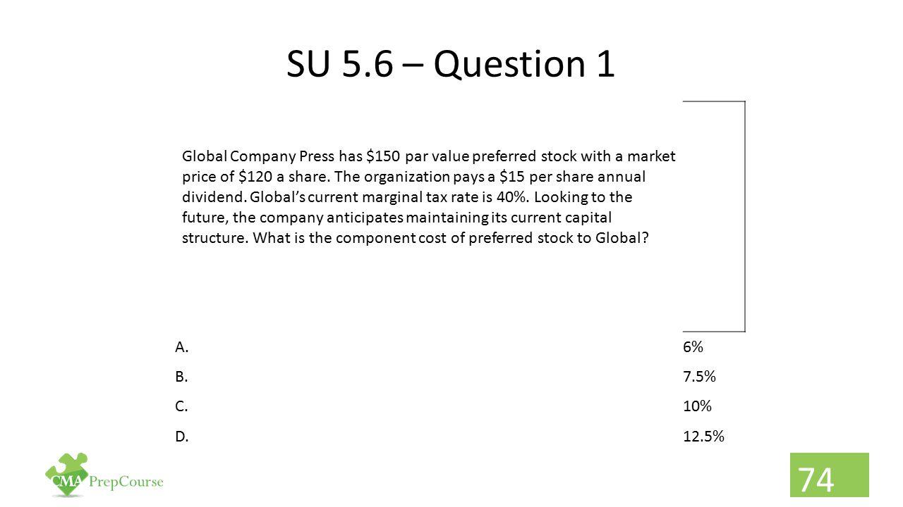 SU 5.6 – Question 1