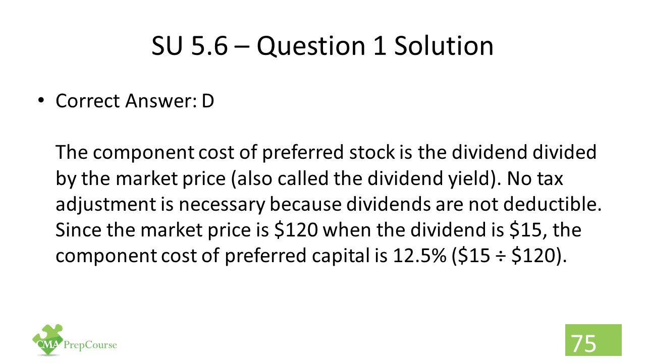 SU 5.6 – Question 1 Solution