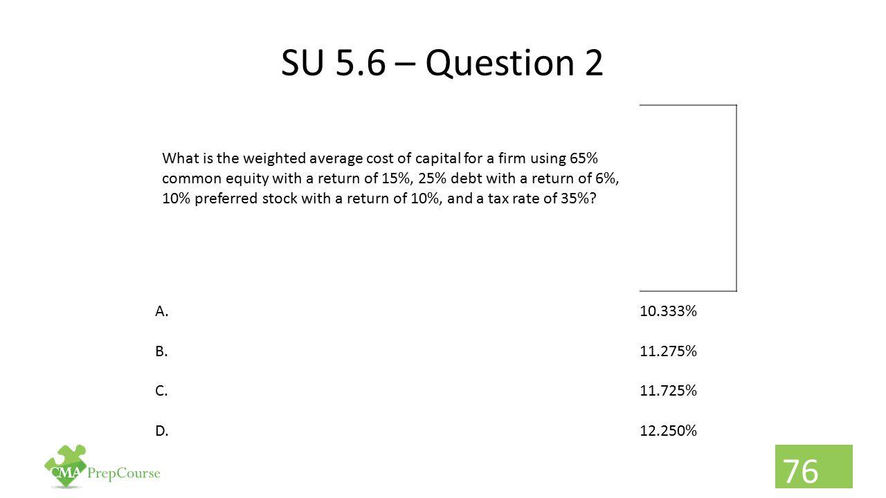 SU 5.6 – Question 2