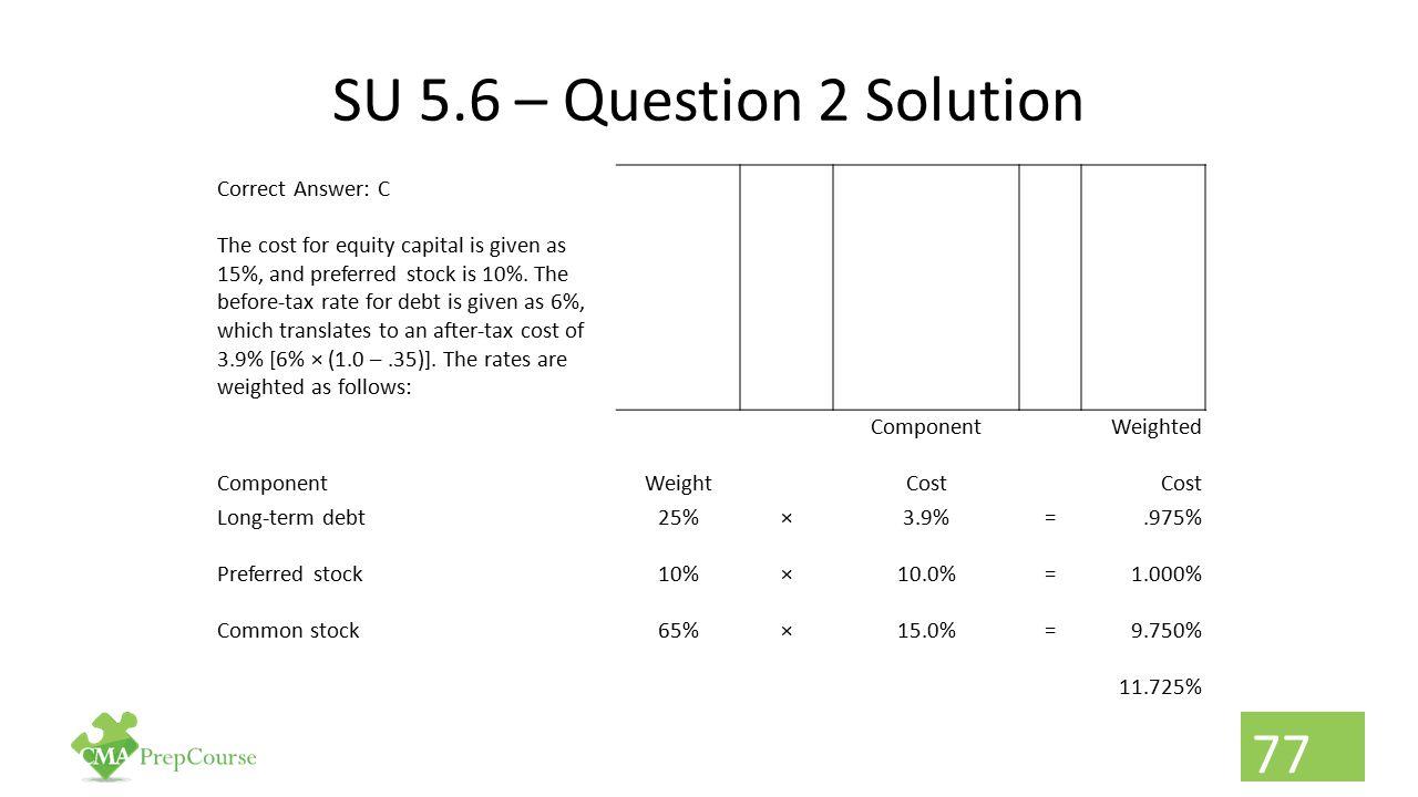 SU 5.6 – Question 2 Solution