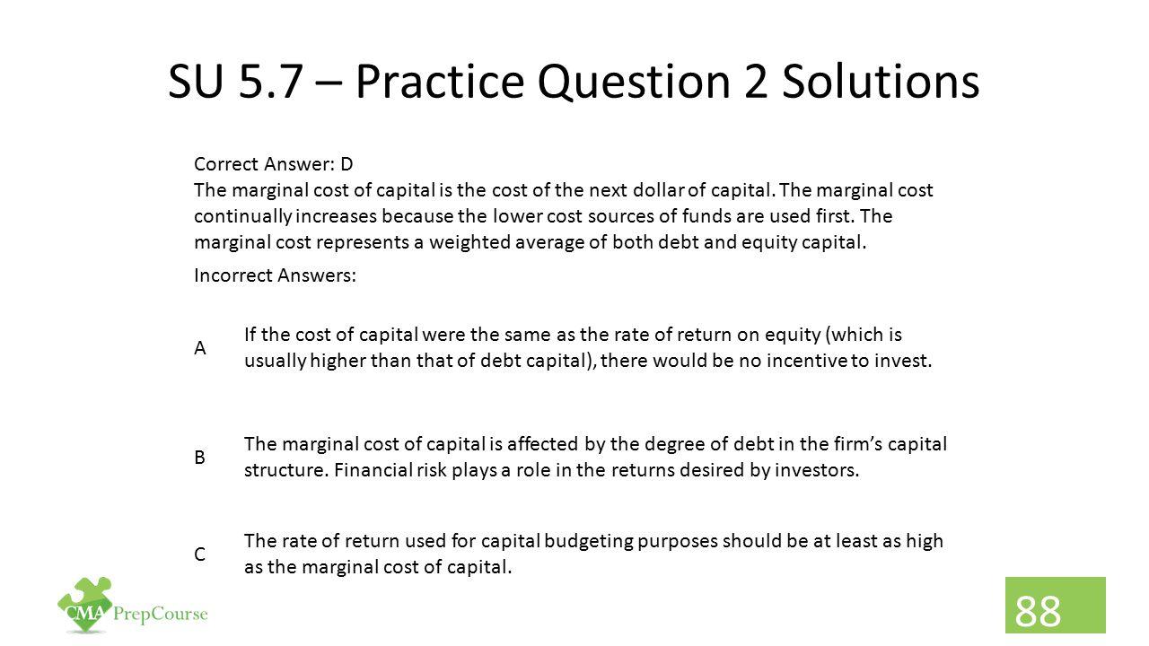 SU 5.7 – Practice Question 2 Solutions