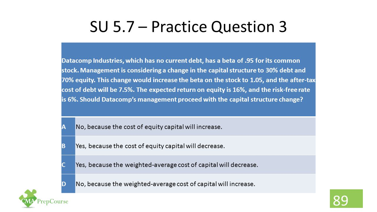 SU 5.7 – Practice Question 3