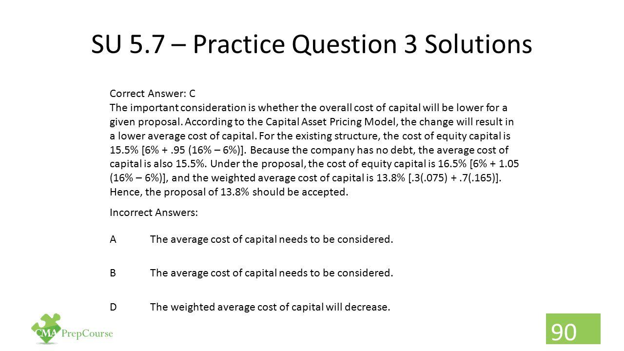 SU 5.7 – Practice Question 3 Solutions