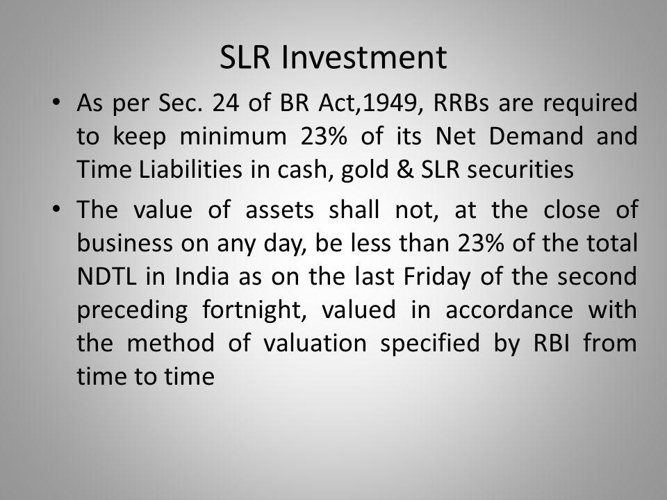 SLR Investment