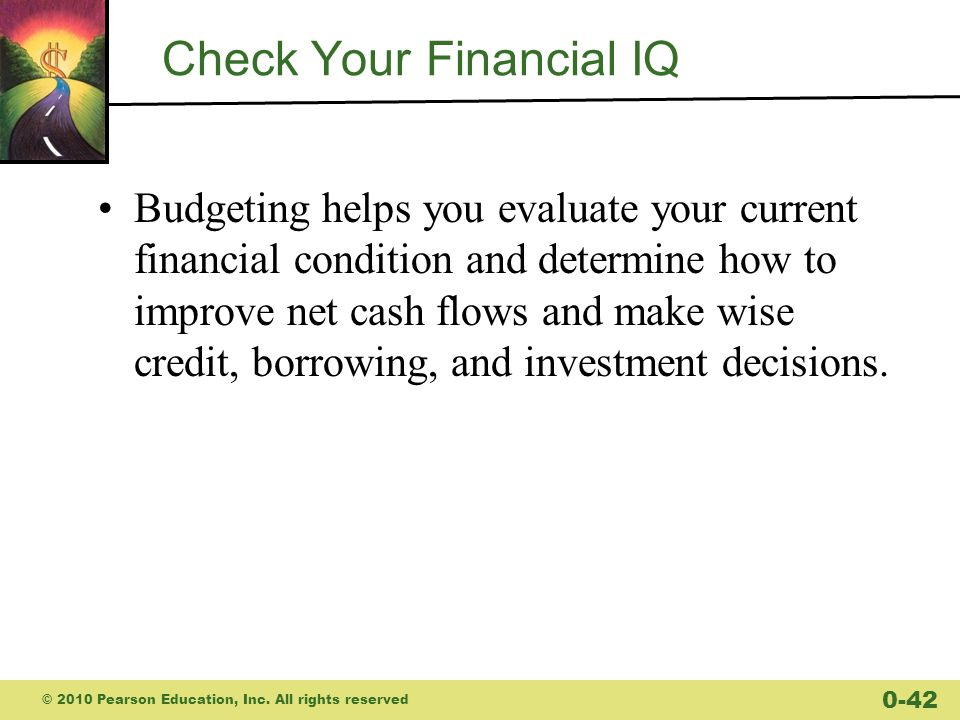 Check Your Financial IQ