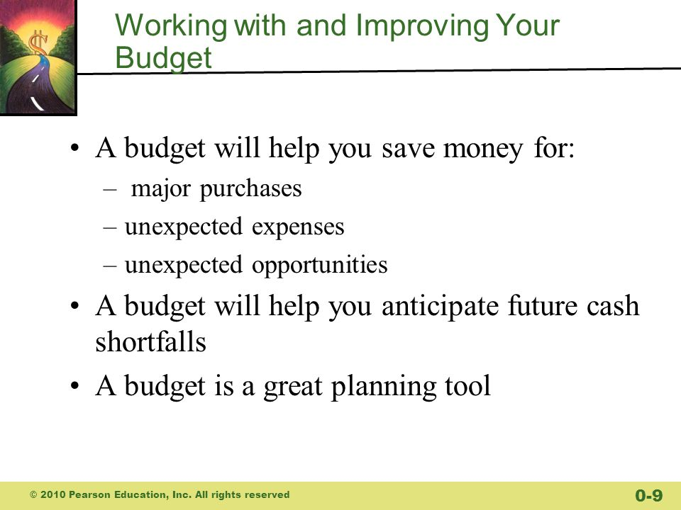 Working with and Improving Your Budget
