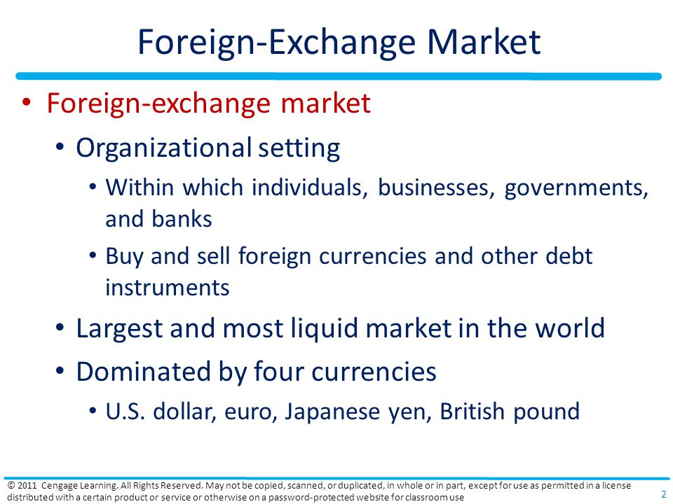 Foreign-Exchange Market