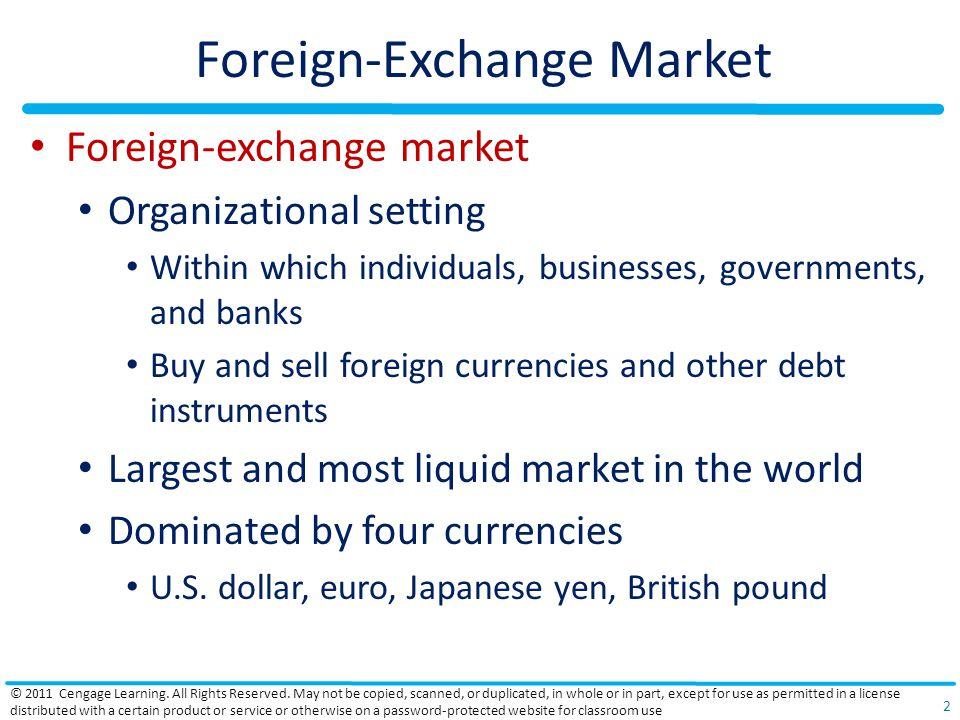 Foreign-Exchange Market
