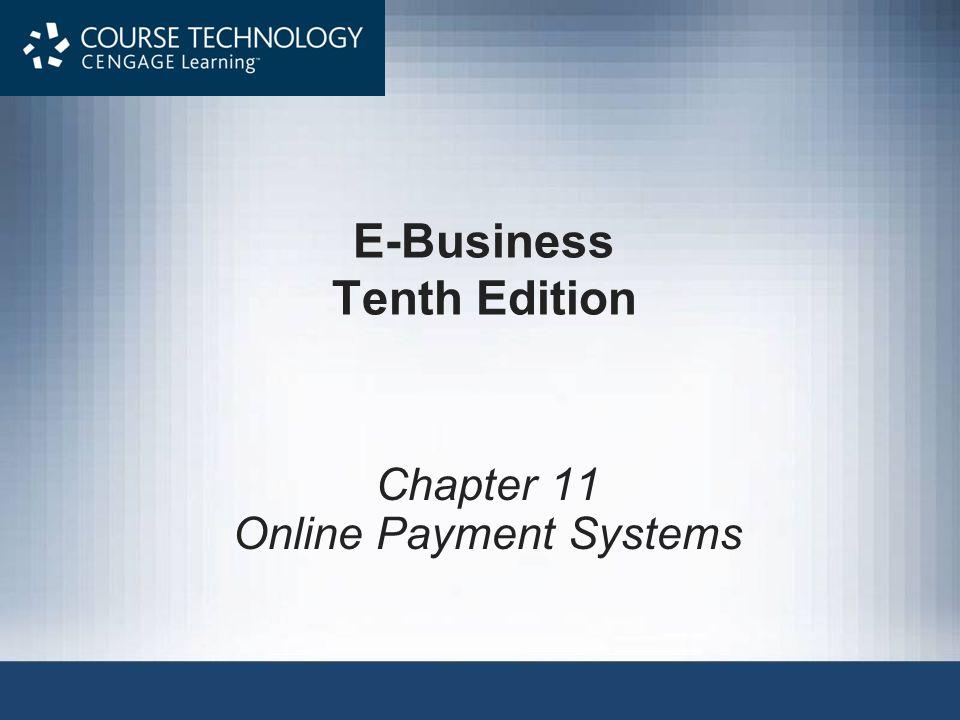 E-Business Tenth Edition