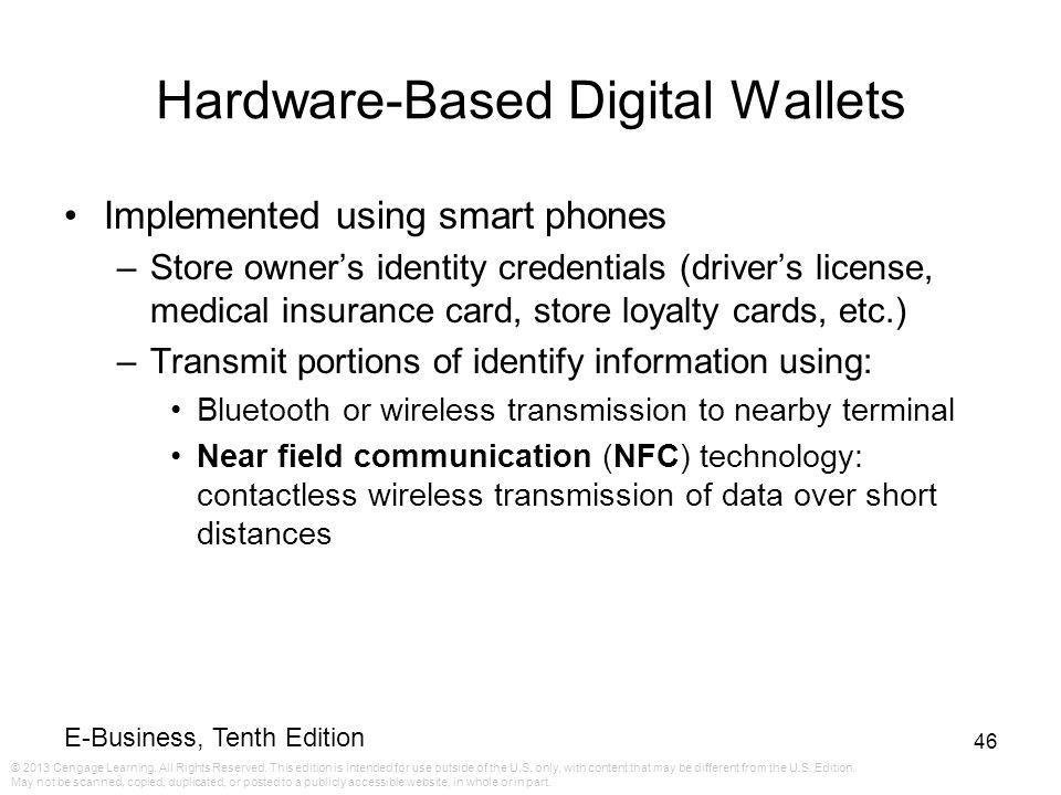 Hardware-Based Digital Wallets