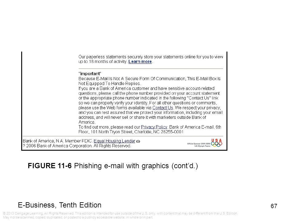FIGURE 11-6 Phishing e-mail with graphics (cont'd.)