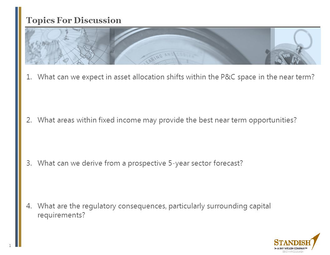 What can we expect in asset allocation shifts within the P&C space in the near term