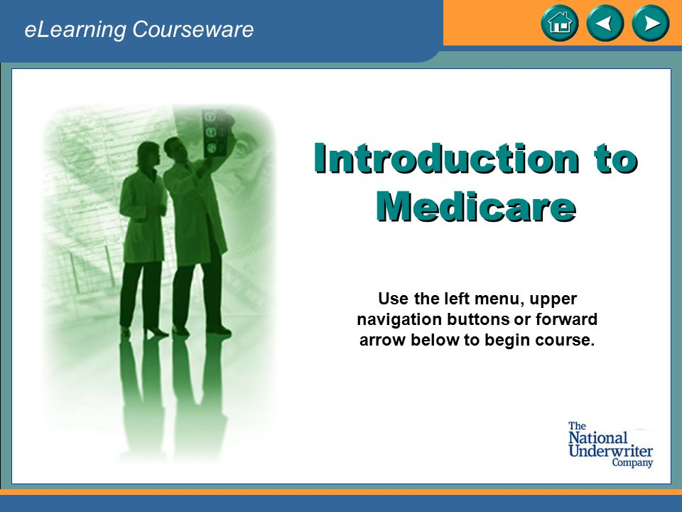 Introduction to Medicare
