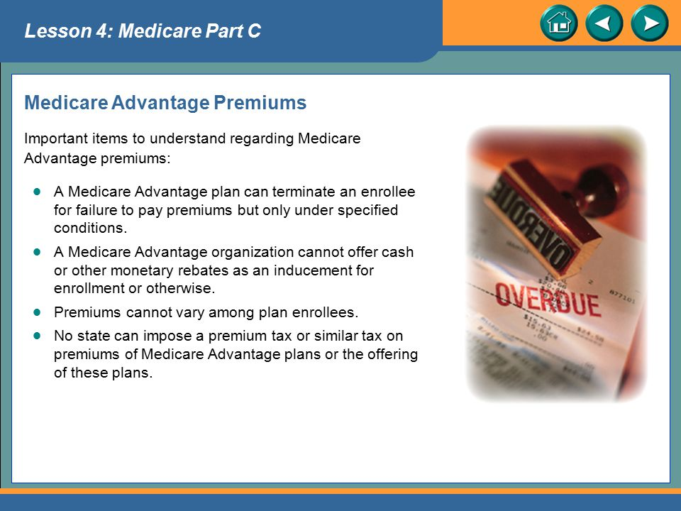 Medicare Advantage Premiums