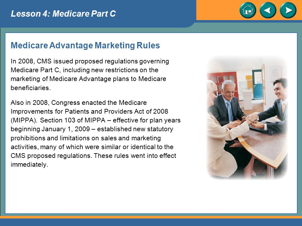 Medicare Advantage Marketing Rules