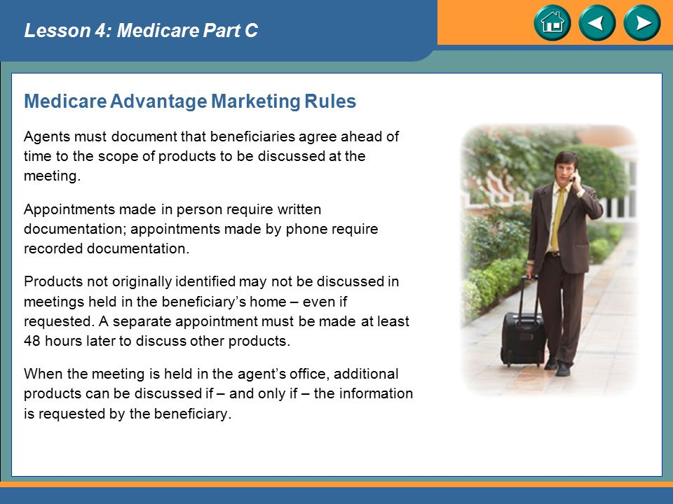 Medicare Advantage Marketing Rules