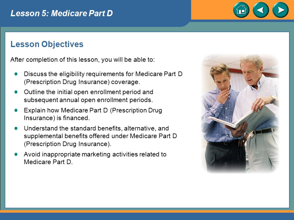 Lesson 5: Medicare Part D