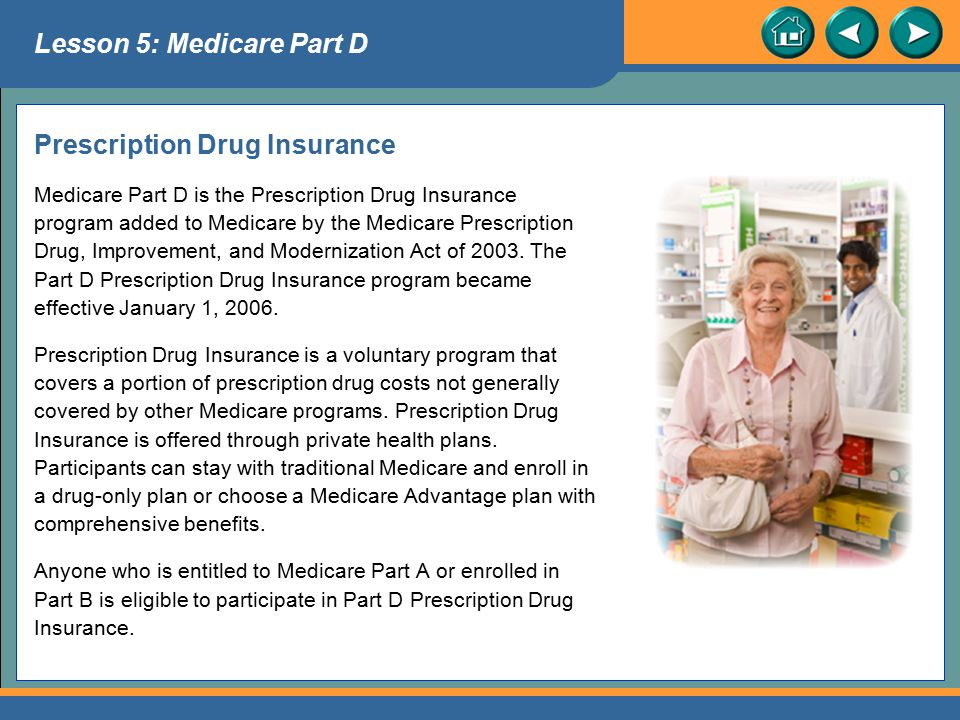 Prescription Drug Insurance