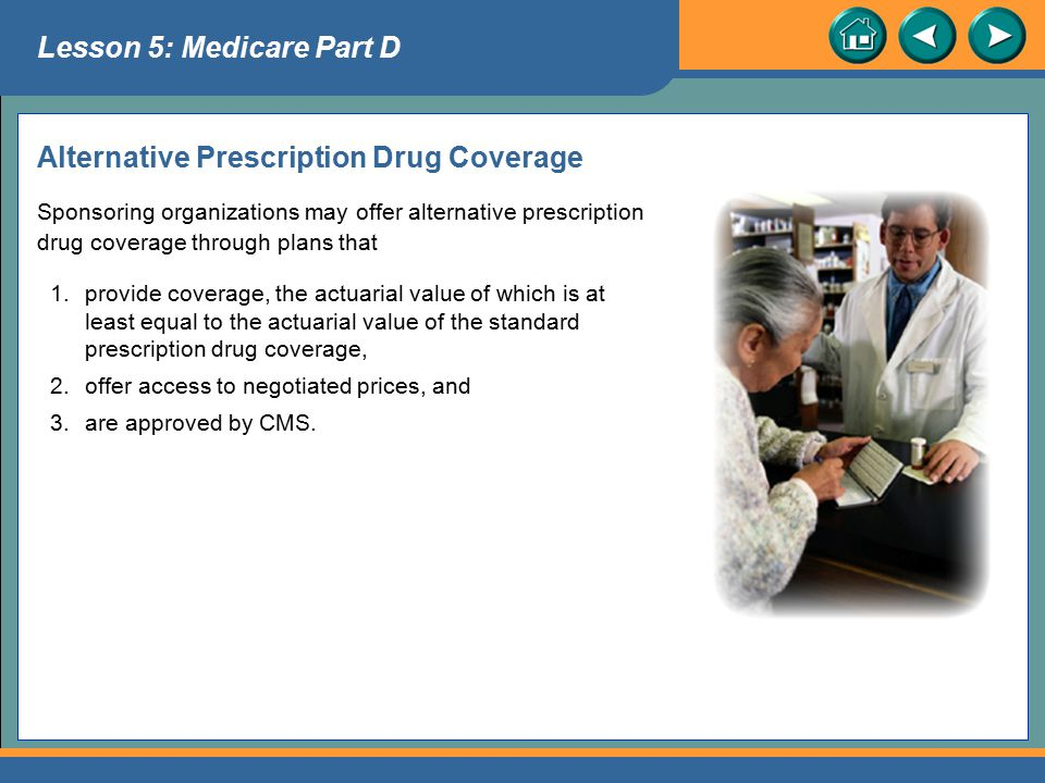 Alternative Prescription Drug Coverage