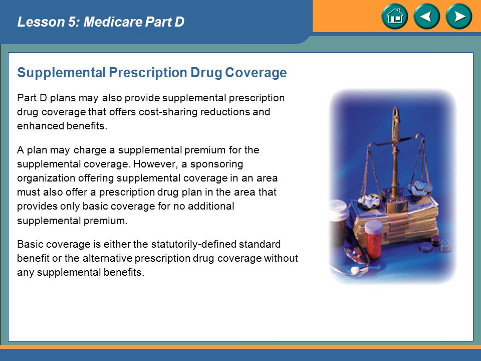 Supplemental Prescription Drug Coverage