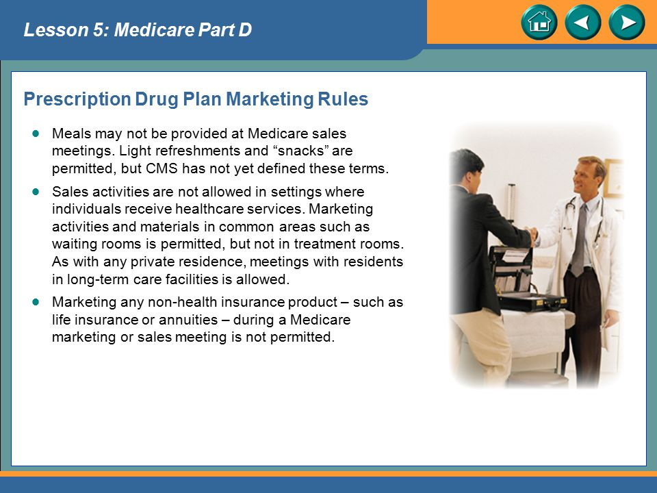 Prescription Drug Plan Marketing Rules