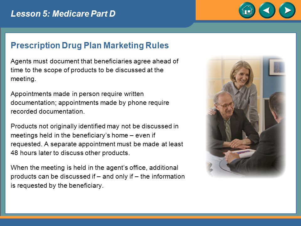 Prescription Drug Plan Marketing Rules