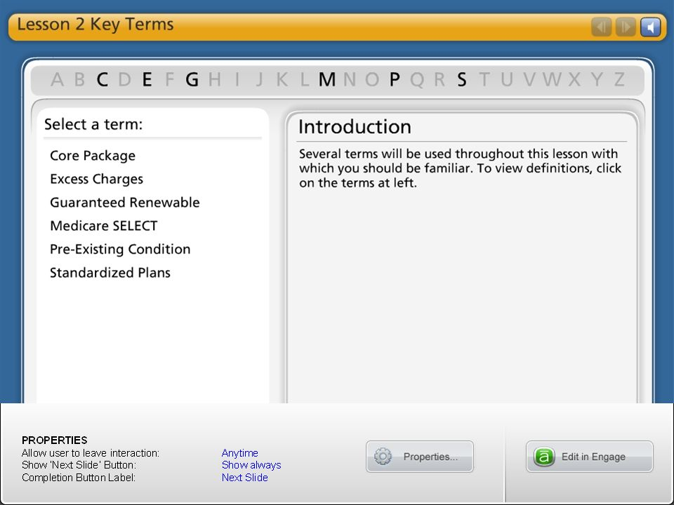 Lesson 2 Key Terms
