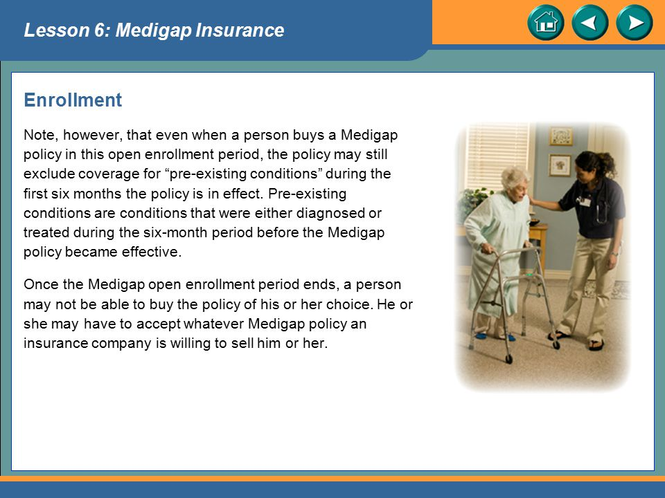Lesson 6: Medigap Insurance