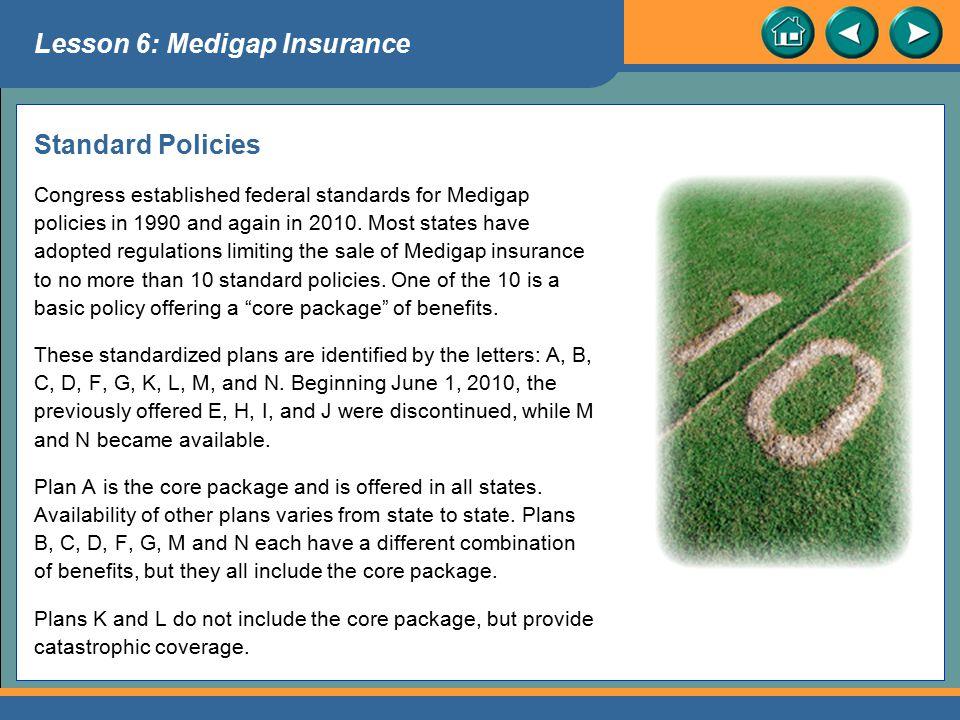 Lesson 6: Medigap Insurance
