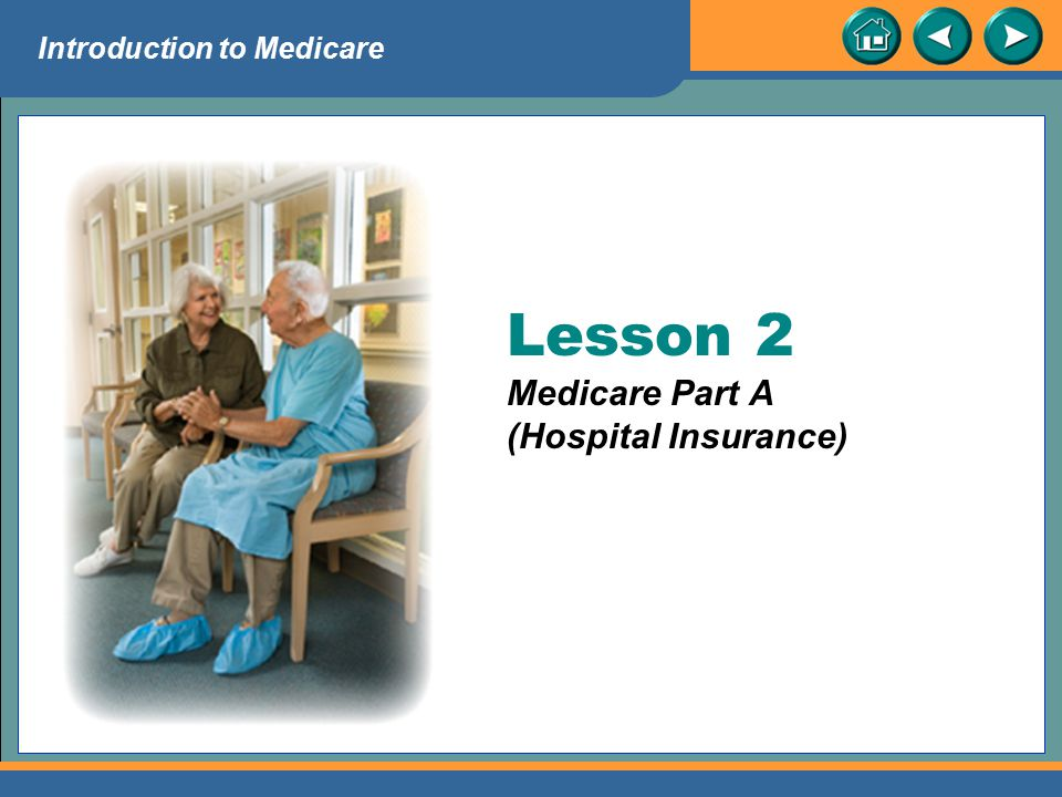 Lesson 2 Medicare Part A (Hospital Insurance)