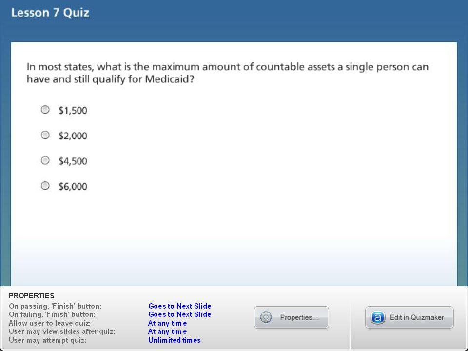 Lesson 7 Quiz