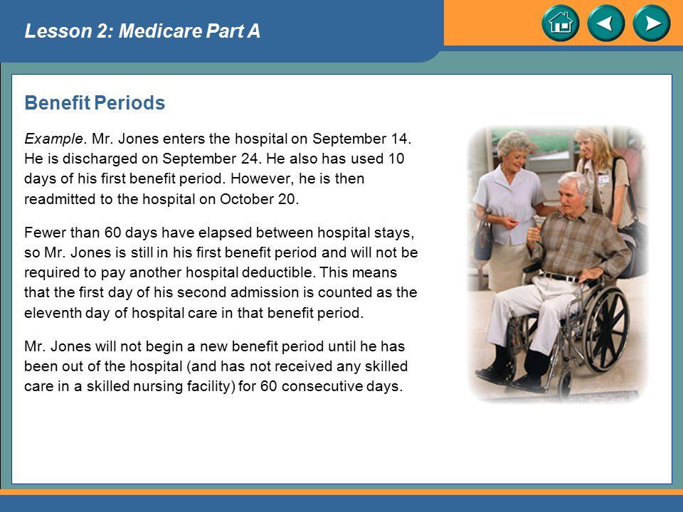 Lesson 2: Medicare Part A